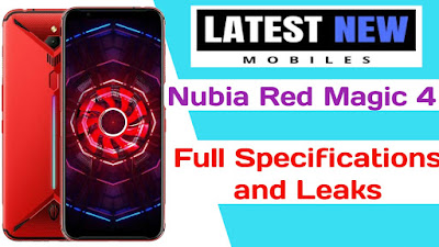Nubia Red Magic 4 Full Specifications