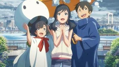 """Weathering With You"" (Tenki no Ko) - Hodaka, Hina, Nagi"