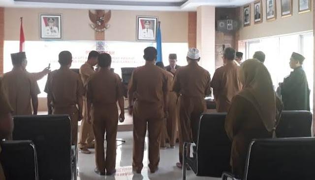 7 Kepala Sekolah SMA dan SMKN, di Selayar Dilantik