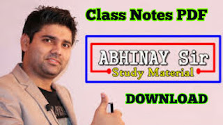 Abhinay Sharma  Maths Notes PDF Download | RRB/RAILWAY NTPC Math Notes