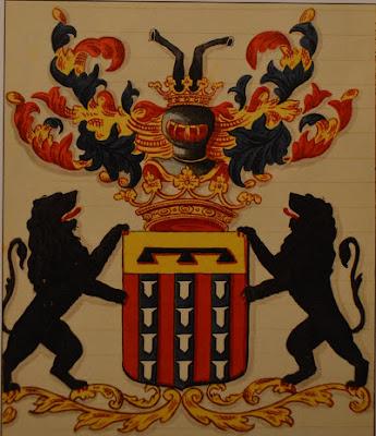Wapen van de baronessen de Cocq van Haeften