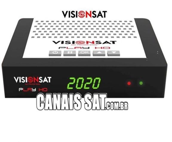 VISIONSAT PLAY NOVA ATUALIZAÇÃO V1.13 - 07/08/2020