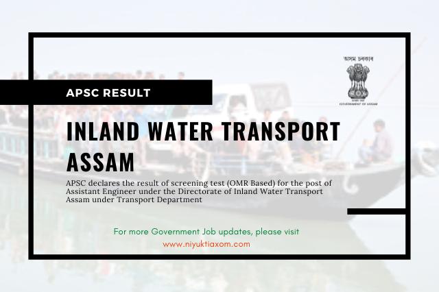 Inland Water Transport Assam