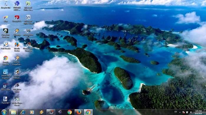 Cara Memotret Atau Menangkap Gambar Foto Desktop Komputer