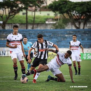 Não foi a estreia que o torcedor do Atlético queria na Copa São Paulo de Futebol Júnior 2020. O time acabou sendo derrotado na tarde desta sexta-feira pela equipe do River, do Piauí, pelo placar de 1 a 0.