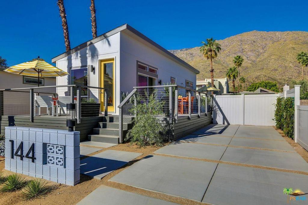The Little Living Blog Palm Canyon Pre Fab Home 800 Sq Ft