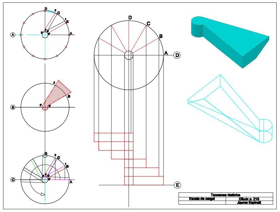 Medieval world construcci n de una escalera de caracol for Como calcular una escalera