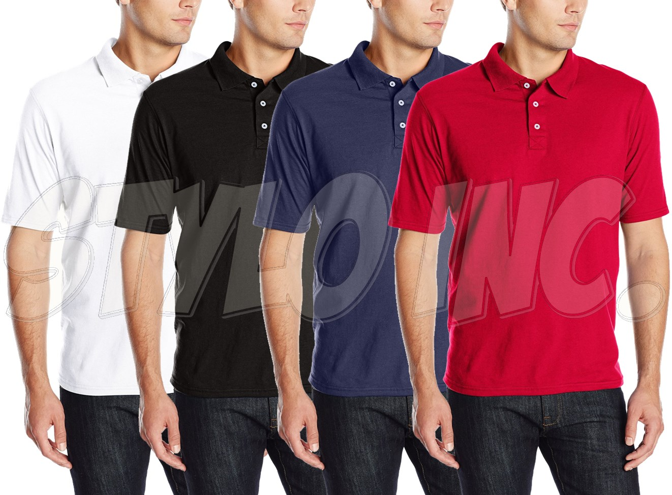 Classic Polo Shirts 6pcs Bundle