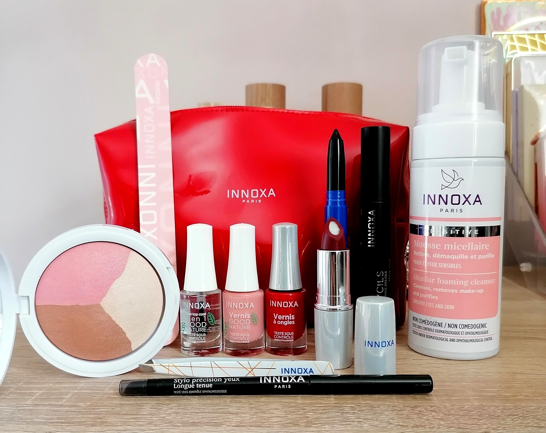 Je découvre INNOXA, le maquillage pour les peaux sensibles!