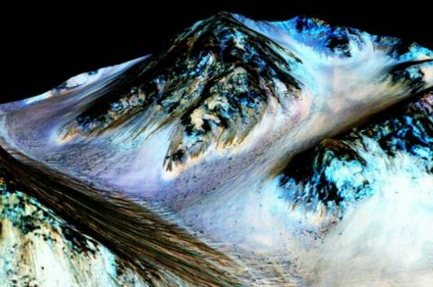 Garis Misterius di Planet Mars