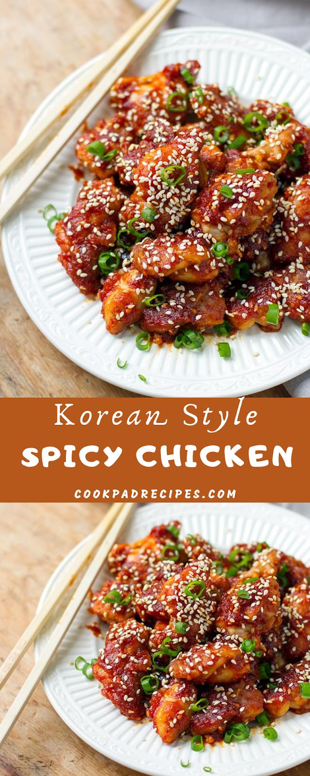 Korean Style Spicy Chicken (Paleo & GF)