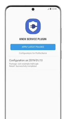 Knox Service Plugin