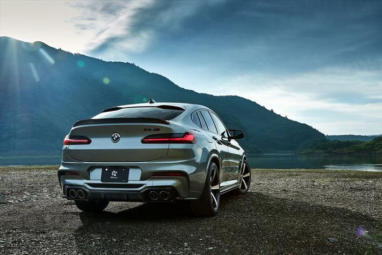 BMW X4 M hầm hố hơn nhờ sợi carbon của 3D Design