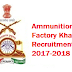 Ammunition Factory Khadki Recruitment 2017-2018 Application Form / Notification