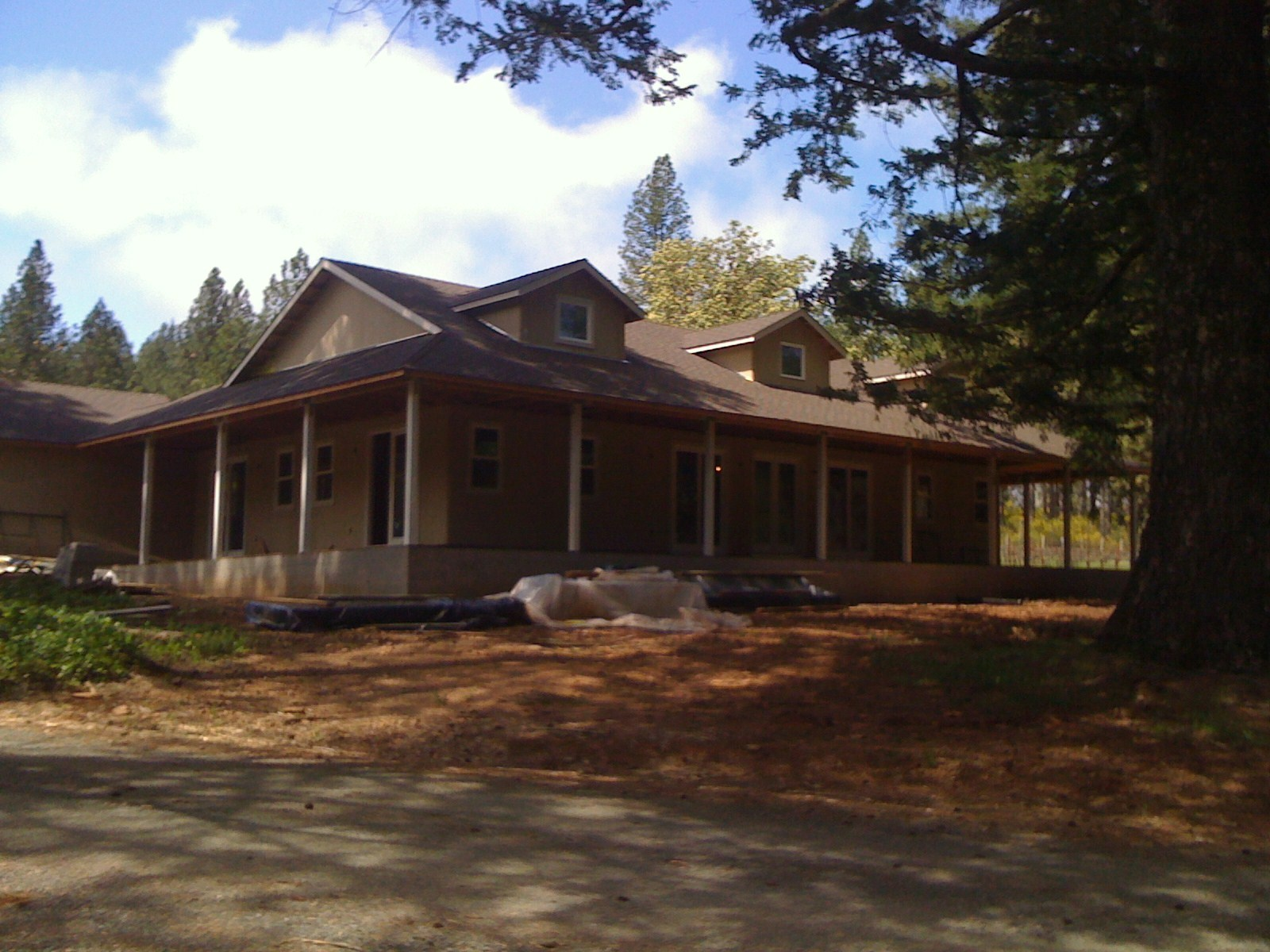 The Residence Up In Angwin Is Almost Done And I Did Have A Chance To Get There About Month Ago Here Are Some Afternoon Pictures Which