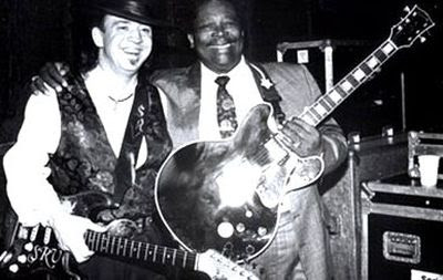 bb king and stevie ray vaughan