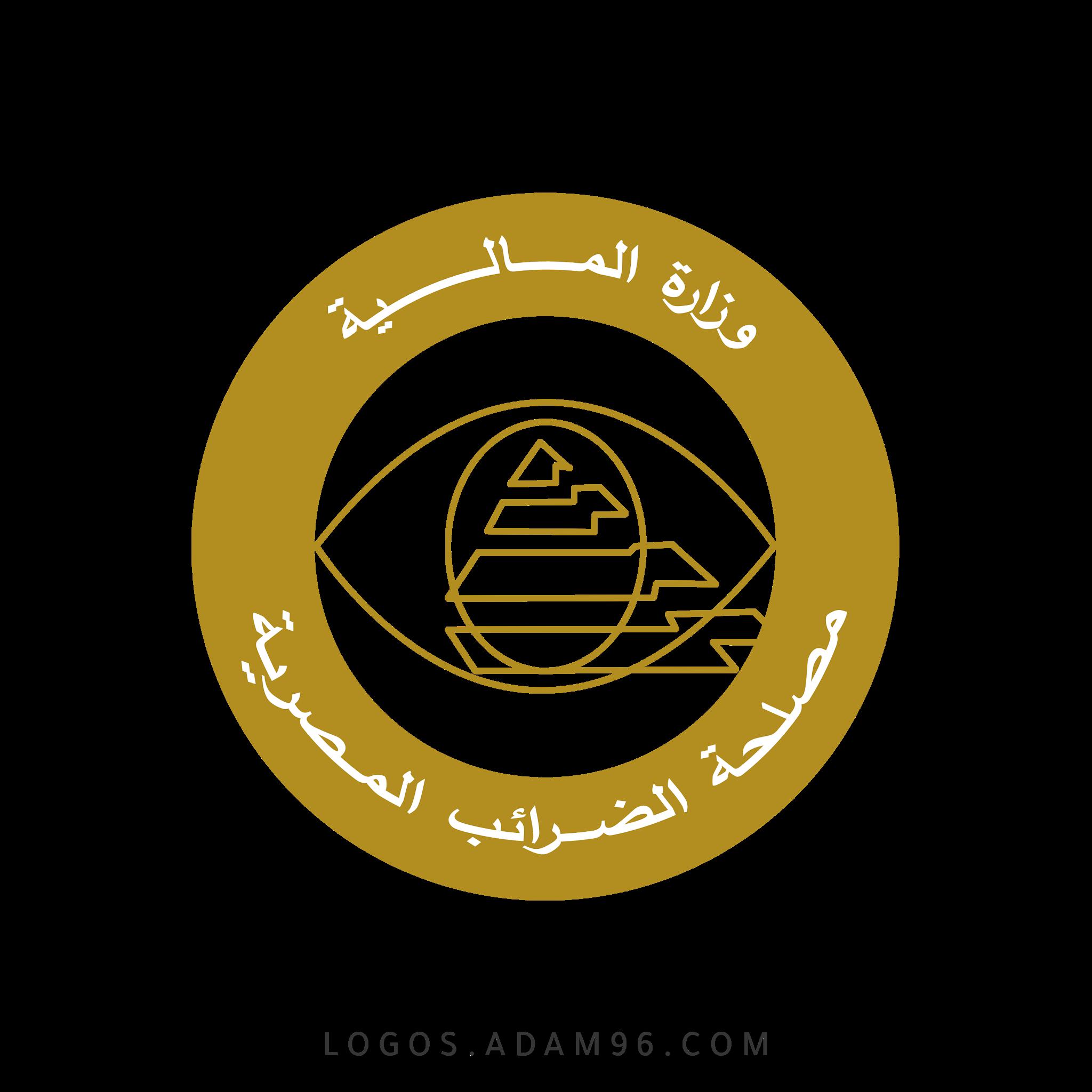تحميل شعار مصلحة الضرائب المصرية لوجو رسمي عالي الدقة شفاف PNG
