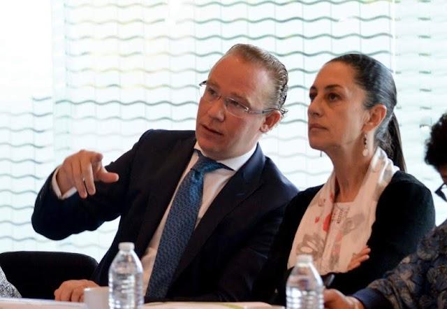 Claudia Sheibaum traiciónó a su suegro López Obrador uniéndose a Santiago Taboada del PAN.