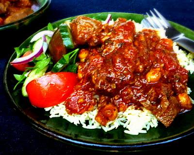 hungry tummies: Moroccan Lamb With Saffron Rice