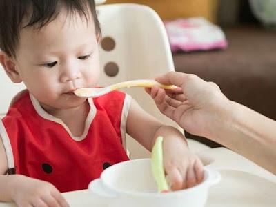 Makanan bayi sesuai usia