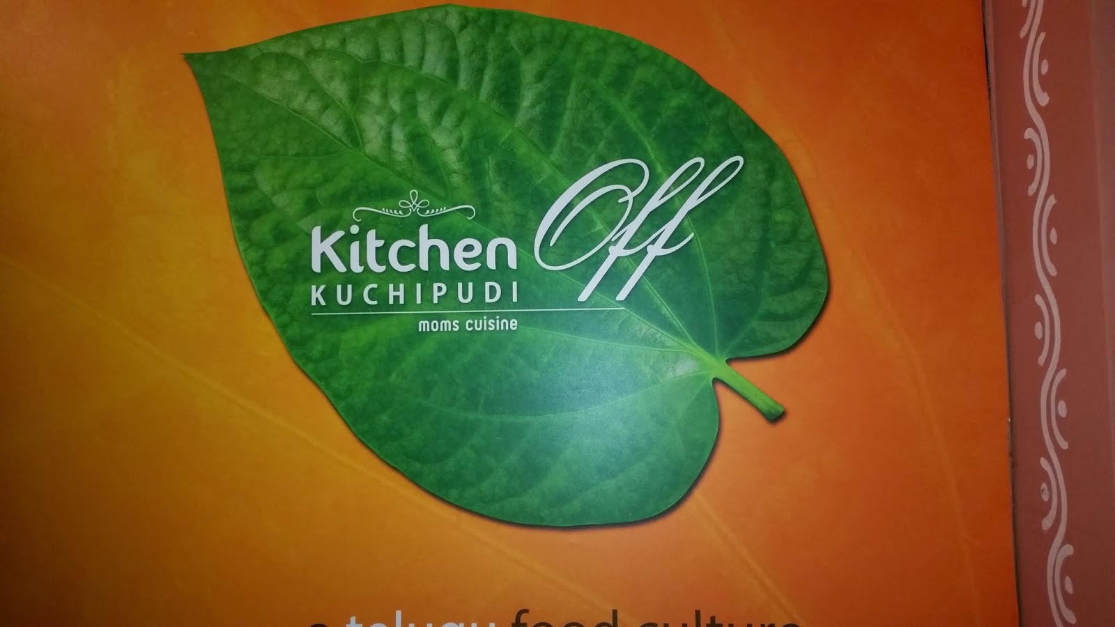 Kitchen Off Kuchipudi