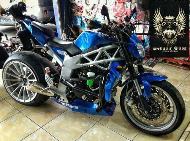 Spesifikasi Yamaha Byson Karbu