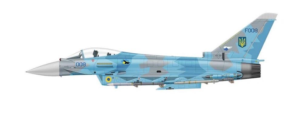 Eurofighter Typhoon of the Ukrainian Air Force