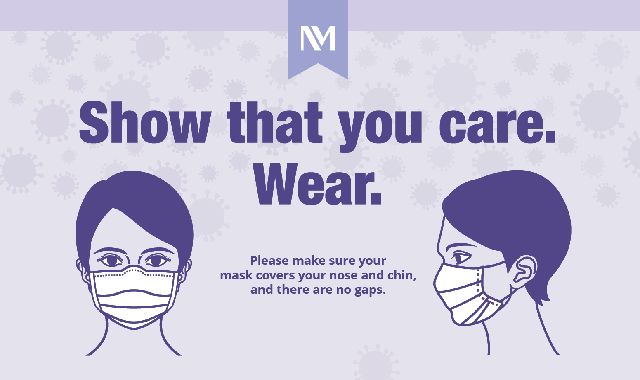How to Wear a Face Mask #infographic