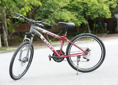 Xe đạp địa hình cho nam Shika SK2 đỏ
