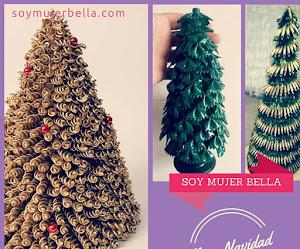 Árbol de Navidad con fideos - DIY