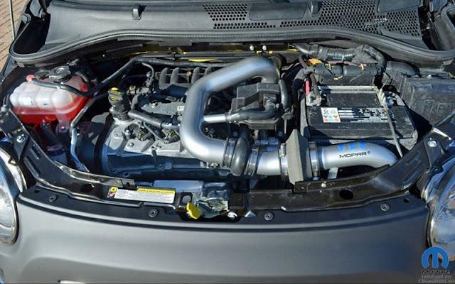 2013 Fiat 500S Engine