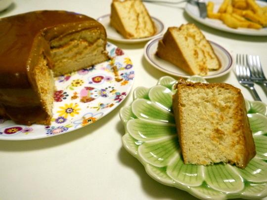 Filipino-Style Caramel Cake