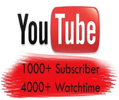 Hướng dẫn cách kiếm 4000 giờ xem & 1000 Subscribe để bật kiếm tiền youtube