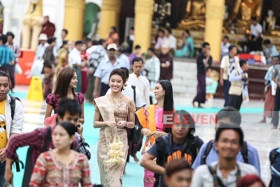 Nguyễn Trần Huyền Visits To Yangon for second time to star in new Myanmar Movie with Nay Toe