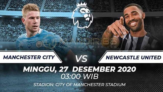 Prediksi Manchester City Vs Newcastle United, Minggu 27 Desember 2020 Pukul 03.00 WIB @ Mola TV