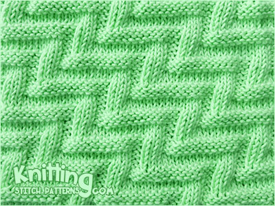 Labyrinth Knitting Stitch Patterns