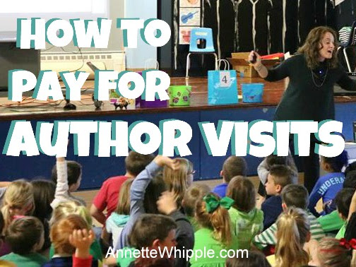 How to Pay for An Author Visit