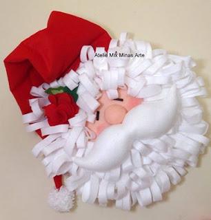 decoração de Natal Papai Noel