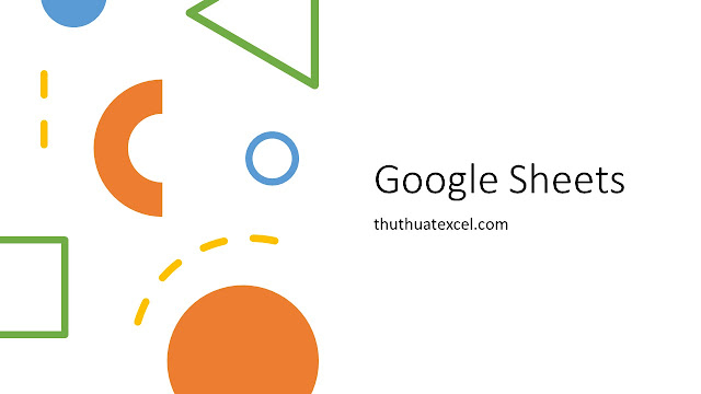 Cách bôi màu tự động toàn bộ ô của google sheets