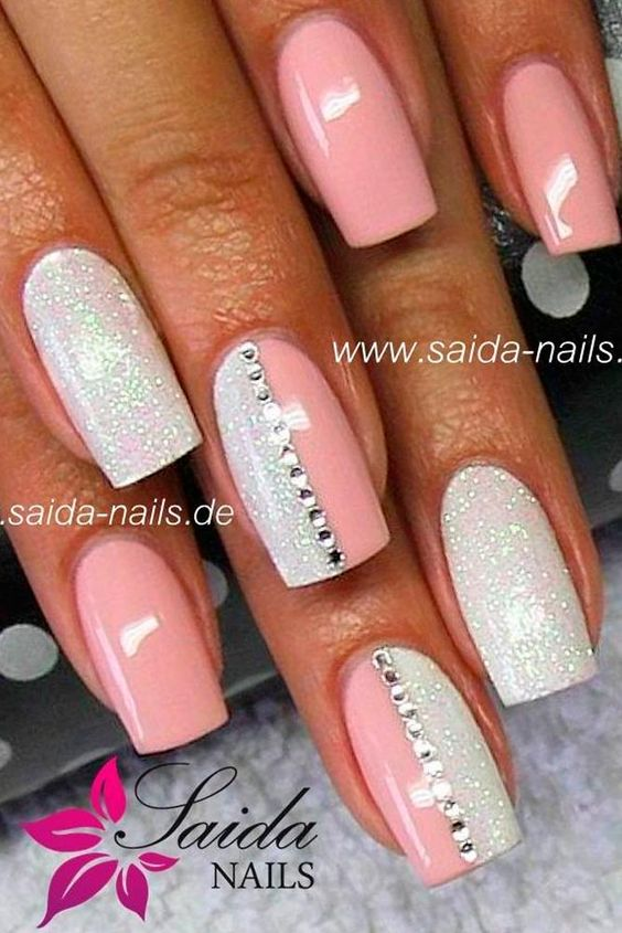 45 PERFECT PINK NAILS DESIGNS TO FINISH INCREDIBLY GIRLY LOOK