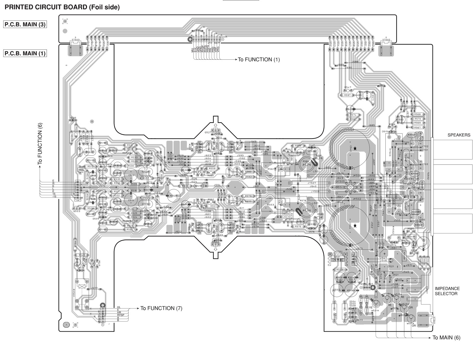 Yamaha Ax396 Stereo Amplifier Circuit Diagram