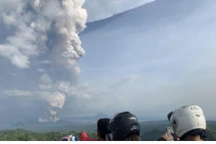 Meletusnya Gunung Taal, Filipina Hentikan Penerbangan dan Tutup Bandara Utama