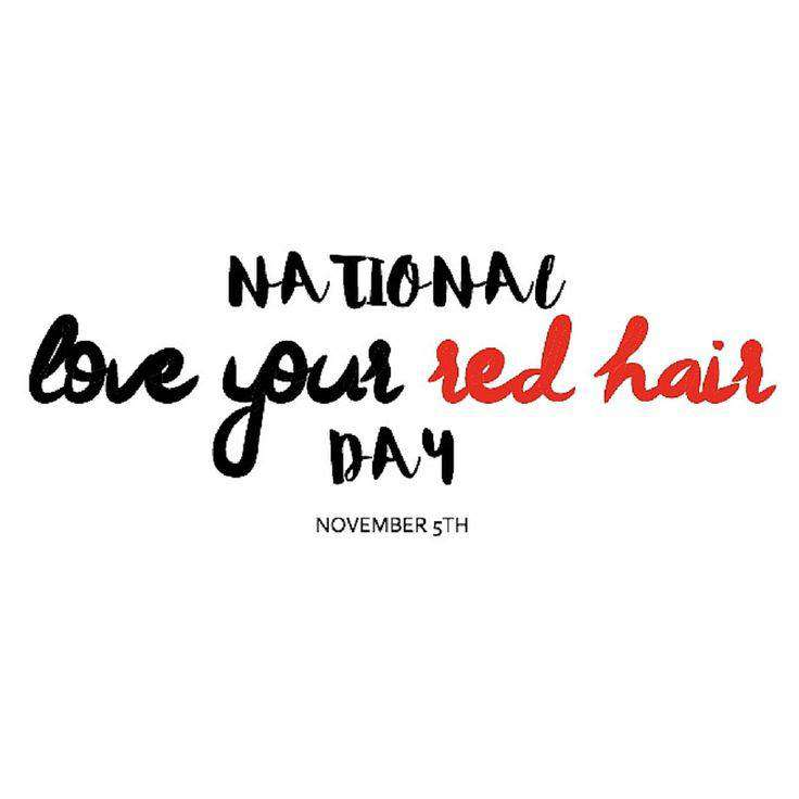 National Love Your Red Hair Day Wishes