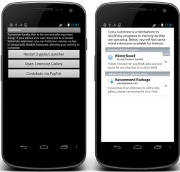 Cydia Kini Hadir Di OS Android