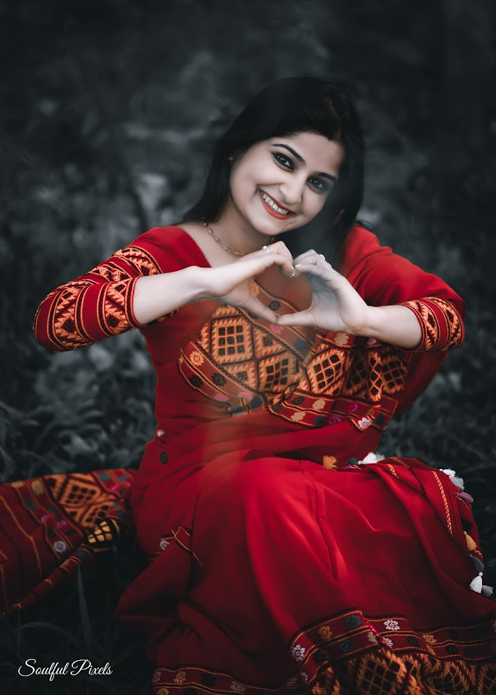 Gorgeous Assamese Lady