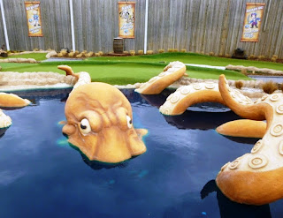 Octopus at Castleford Adventure Golf