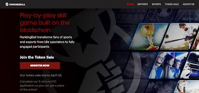 مشروع rankingball اللعبة الرياضية الإلكترونية المبتكرة