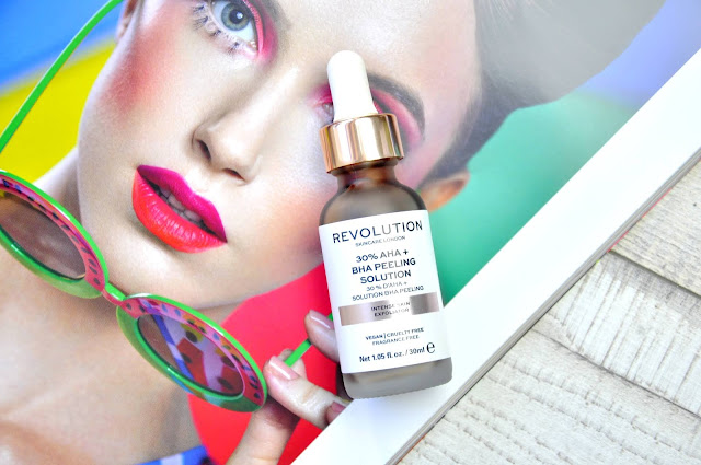 peeling revolution skincare 30% aha + bha peeling solution
