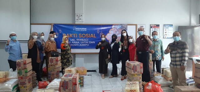 UBL Gelar Baksos Berbagi Bersama 1250 Anak Yatim dan Panti Jompo