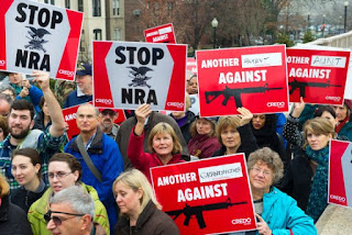CREDO Action protesters at NRA office in Washington DC